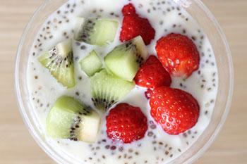 Les graines de chia sont plus riches en calcium que le lait