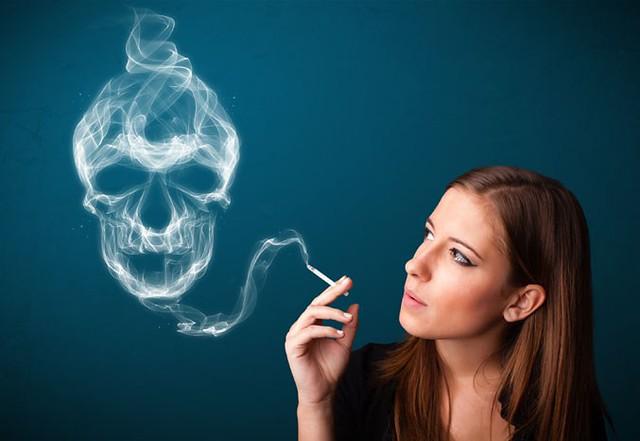 Le tabagisme, les bénéfices d'écraser